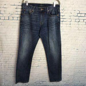 Lucky Brand 221 Original Straight 33x32 Jeans Blue
